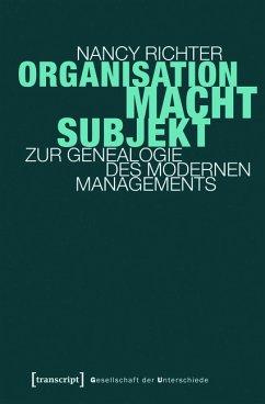 Organisation, Macht, Subjekt (eBook, PDF) - Richter, Nancy