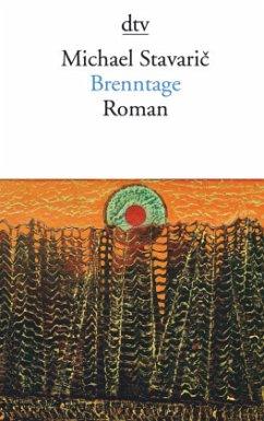Brenntage - Stavaric, Michael