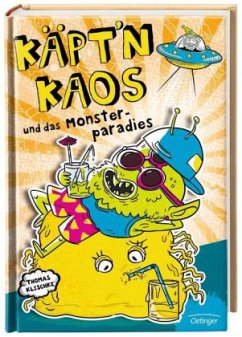 Käpt'n Kaos und das Monsterparadies / Käpt´n Kaos Bd.2 - Klischke, Thomas