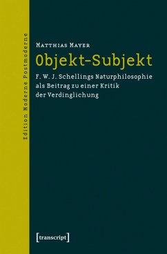 Objekt-Subjekt (eBook, PDF) - Mayer, Matthias