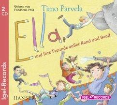 Ella und ihre Freunde außer Rand und Band / Ella Bd.10 (Audio-CD) - Parvela, Timo