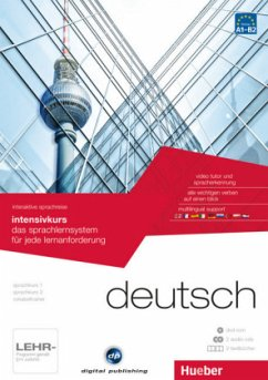 Intensivkurs, DVD-ROM m. 2 Audio-CDs u. 2 Textb...