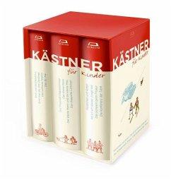Kästner für Kinder 3 Bände - Kästner, Erich