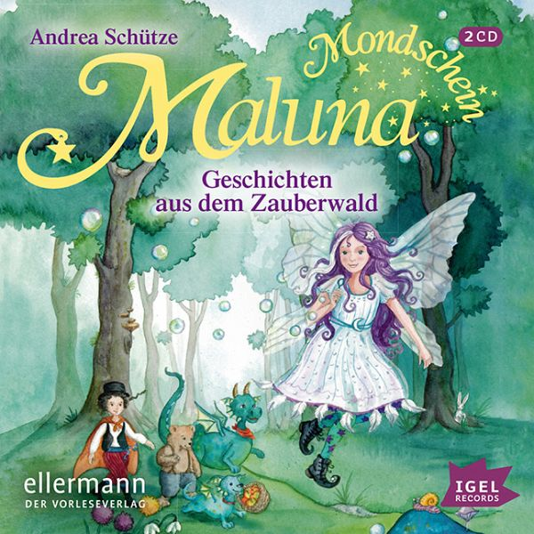 geschichten aus dem zauberwald maluna mondschein bd 2 audio cd von andrea sch tze h rbuch. Black Bedroom Furniture Sets. Home Design Ideas