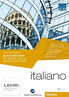 Interaktive Sprachreise: Grammatiktrainer Italiano/Italienisch (IS18)