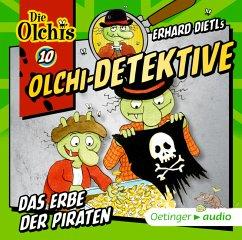 Das Erbe der Piraten / Olchi-Detektive Bd.10 (1 Audio-CD) - Dietl, Erhard;Iland-Olschewski, Barbara