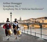 Sinfonie 2 & 4