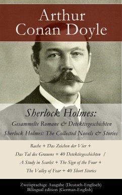 Sherlock Holmes: Gesammelte Romane & Detektivge...