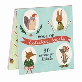 Holiday Forest Friends - Book of Labels