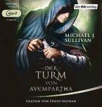 Der Turm von Avempartha / Riyria Bd.2 , 1 MP3-CD