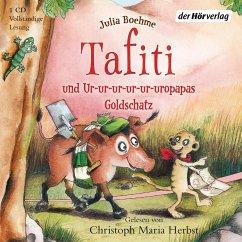 Tafiti und Ur-ur-ur-ur-ur-uropapas Goldschatz / Tafiti Bd.4 (1 Audio-CD) - Boehme, Julia