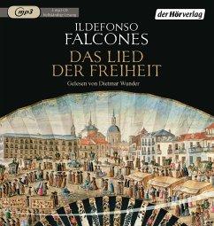 Das Lied der Freiheit, 3 MP3-CD - Falcones, Ildefonso