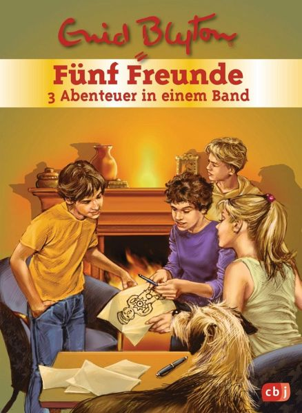 f nf freunde 3 abenteuer in einem band f nf freunde sammelb nde von enid blyton buch. Black Bedroom Furniture Sets. Home Design Ideas