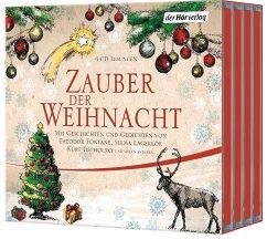 Zauber der Weihnacht, 4 Audio-CDs - Busch, Wilhelm; Fontane, Theodor; Lagerlöf, Selma; Ringelnatz, Joachim; Tucholsky, Kurt