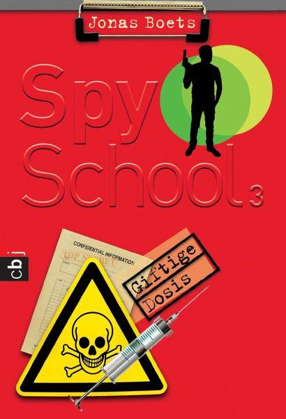 Buch-Reihe Spy School