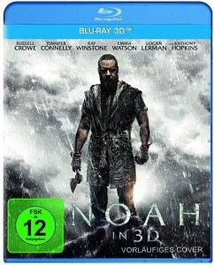 Noah - 2 Disc Bluray - Emma Watson,Jennifer Connelly,Russell Crowe