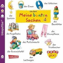 Eines der schönen Baby Pixi Bücher als Softcover: Meine bunten Sachen. Ideal als Babybuch.
