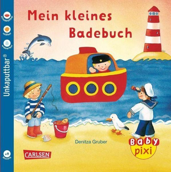 Eines der super Baby Pixi Bücher als Softcover: Mein kleines Badebuch. Perfekt als Babybuch geeignet.