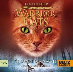 Stimmen der Nacht / Warrior Cats Staffel 4 Bd.3 (5 Audio-CDs) - Hunter, Erin