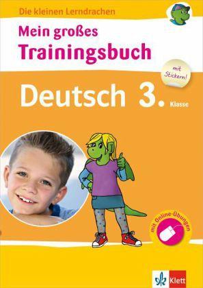 mein gro223es trainingsbuch deutsch 3 klasse schulbuch