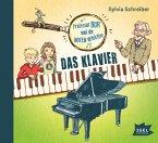 Professor Dur und die Notendetektive - Das Klavier, Audio-CD