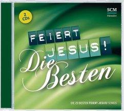 Feiert Jesus! Die Besten, 2 Audio-CDs