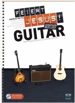 Feiert Jesus! Workshop Guitar, m. DVD-ROM - Mette, Andreas