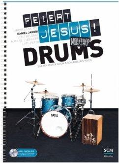 Feiert Jesus! Workshop Drums, m. DVD-ROM - Jakobi, Daniel
