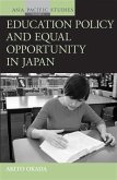 Education Policy and Equal Opportunity in Japan (eBook, PDF)