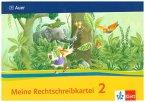 Das Auer Sprachbuch. Rechtschreibkartei 2. Schuljahr. Ausgabe für Bayern - Neubearbeitung 2014