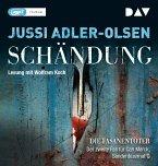 Schändung / Carl Mørck. Sonderdezernat Q Bd.2 (1 MP3-CDs)