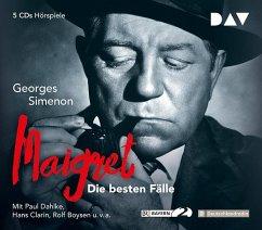 Maigret, Die besten Fälle, 5 Audio-CDs - Simenon, Georges