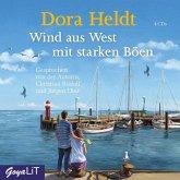 Wind aus West mit starken Böen, 4 Audio-CDs