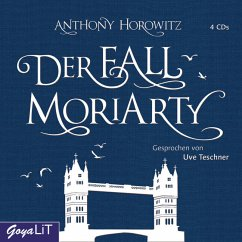 Der Fall Moriarty, 4 Audio-CDs - Horowitz, Anthony