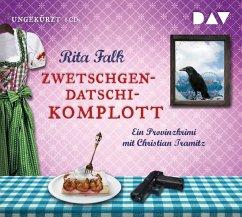 Zwetschgendatschikomplott / Franz Eberhofer Bd.6 (6 Audio-CDs) - Falk, Rita