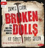 Broken Dolls - Er tötet ihre Seelen / Jefferson Winter Bd.1 (2 MP3-CDs)