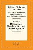Textkritische Werkausgabe 1. Quellendokumentation