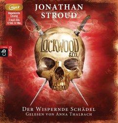 Der wispernde Schädel / Lockwood & Co. Bd.2 (2 Audio-CDs) - Stroud, Jonathan