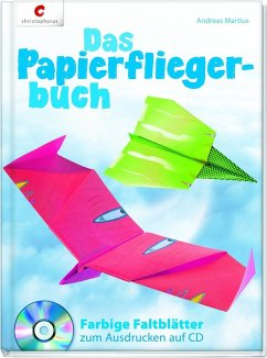 Das Papierfliegerbuch - Martius, Andreas