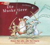 Einer für alle - alle für einen / Die Muskeltiere Bd.1 (3 Audio-CDs)