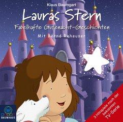Fabelhafte Gutenacht-Geschichten / Lauras Stern Gutenacht-Geschichten Bd.10 (Audio-CD) - Baumgart, Klaus; Neudert, Cornelia