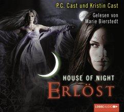 Erlöst / House of Night Bd.12 (5 Audio-CDs) - Cast, P. C.; Cast, Kristin
