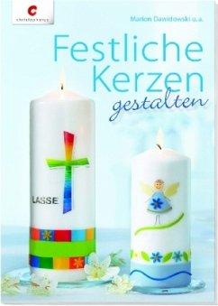 Festliche Kerzen gestalten
