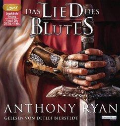 Das Lied des Blutes / Rabenschatten-Trilogie Bd.1 (4 MP3-CDs) - Ryan, Anthony