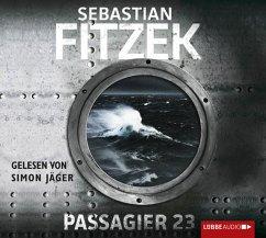Passagier 23, 4 Audio-CDs - Fitzek, Sebastian