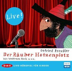 Der Räuber Hotzenplotz, 1 Audio-CD - Preußler, Otfried