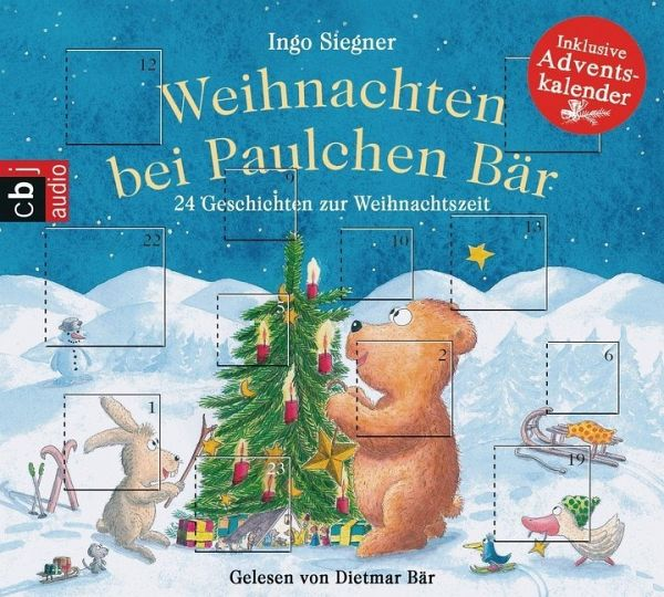 weihnachten bei paulchen b r 1 audio cd von ingo siegner. Black Bedroom Furniture Sets. Home Design Ideas