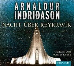 Nacht über Reykjavík / Kommissar-Erlendur-Krimi Bd.12 (4 Audio-CDs) - Indriðason, Arnaldur