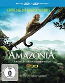 Amazonia - Abenteuer im Regenwald (Blu-ray 3D)