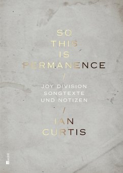 So This Is Permanence - Curtis, Ian